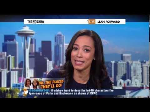 Angela Rye Talks GOP War on Women w MSNBC's Ed Schultz