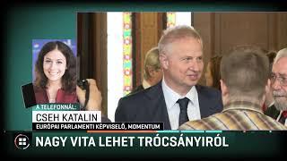 Nagy vita lehet Trócsányiról 19-09-20