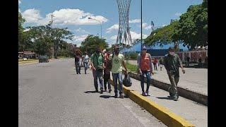 La peregrinación obligada de habitantes del noreste de Barquisimeto ante la falta de transporte