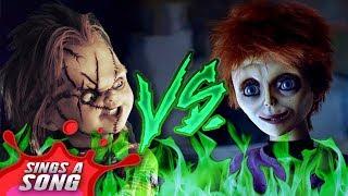 Chucky Vs Glen/Glenda (Childs Play Scary Horror Rap Battle)