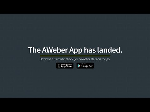 AWeber Email Marketing Mobile App for Android