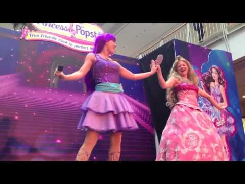 Barbie Princess Popstar in real life Live ( All Songs ) - A princesa e a PopStar