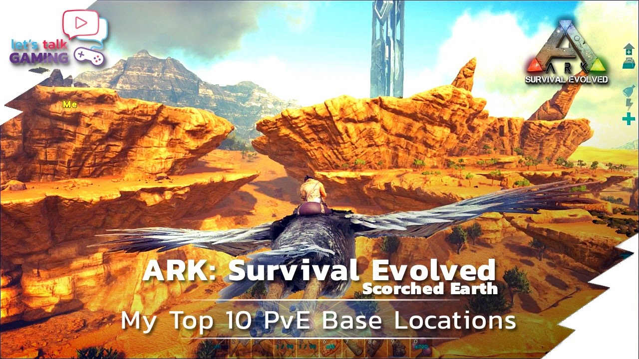 Ark Scorched Earth 06 Top 10 Best Scorched Earth Base Locations