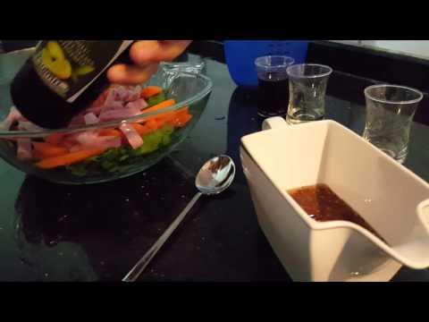 Zeytinyağlı Salata Sosu Tarifi