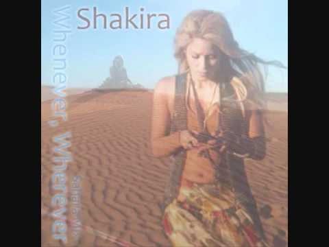 Shakira - Whenever, Wherever (Sahara Mix)