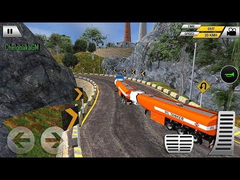 Heavy Oil Tanker Transporter Truck | Gameplay Android