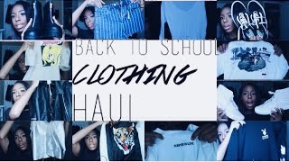 BACK-TO-SCHOOL-SERIES:HUGE CLOTHING HAUL 2016; TOPSHOP,BRANDY MELVILLE,&MORE!