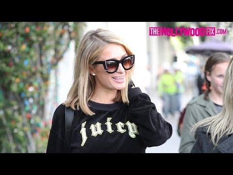 Paris Hilton Makes Her Fan's Dreams Come True During An Impromptu Meet & Greet At Chanel