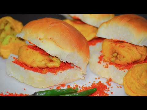 Vada Pav Recipe | How to make vada pav at home | Vibha's Kitchen