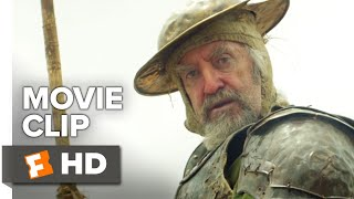 The Man Who Killed Don Quixote Movie Clip - Don Quixote Attacks Police (2019) | Movieclips Coming So