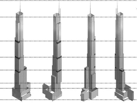 UPDATE 5/2017 Central Park Tower NEW YORK 472m 1550ft 95 fl, The 30 Hudson Yards Manhattan Tower 387