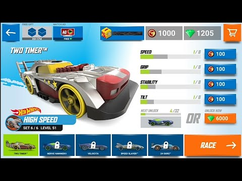 Tow Timer - Hot Wheels Race Off level 51 to 53