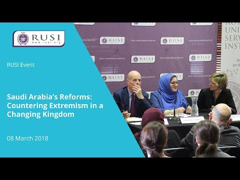 Saudi Arabia's Reforms: Countering Extremism in a Changing Kingdom