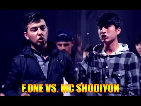 Видео Battle F.One vs.  MC Shodiyon (RAP.TJ)