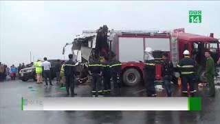 VTC14 | Vụ xe cứu hỏa đi ngược chiều: Nên xem xét trách nhiệm cả 2 bên
