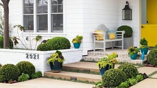 Help Me, BHG: How Can I Boost Curb Appeal without Spending Major Dollars?