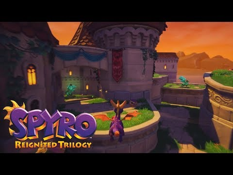 Spyro Reignited Trilogy | EXCLUSIVE Look at Town Square, Peace Keepers & Stone Hill!