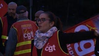 Réforme du travail: coup d'envoi de la grève des routiers