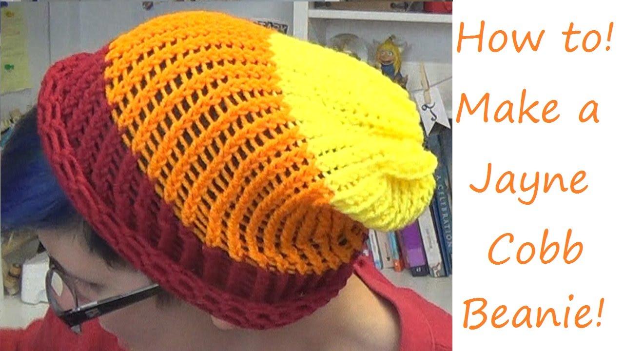 Amazing Jayne Cobb Hat Knitting Pattern Vignette - Sewing Pattern ...