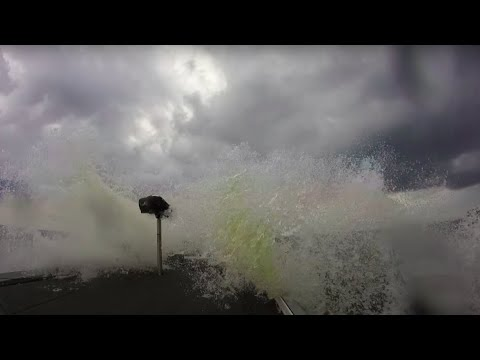 Rough Water at Toledo Bend