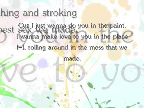 Travis Garland Ft. JoJo - Paint ( with lyrics )