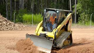 Cat® SMART Dozer Blade at Work