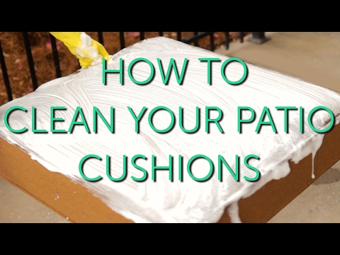 How to Clean Your Outdoor Cushions | Patio Repair & Maintenance