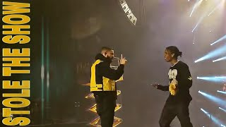 DRAKE STOLE The A$AP Rocky's SHOW with his Nonstop and Sicko Mode