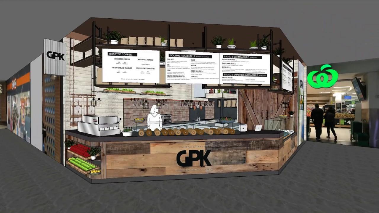 GARDEN PARK KITCHENS - CAFE KIOSK DESIGN - NOBLE SPACES - YouTube
