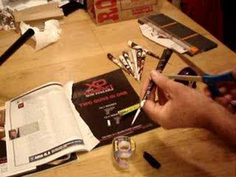 How to make paper blowgun darts