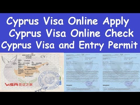 Cyprus Country Visa Apply Process l Cyprus Visa Online Check l Cyprus Work Permit Jobs Requirements