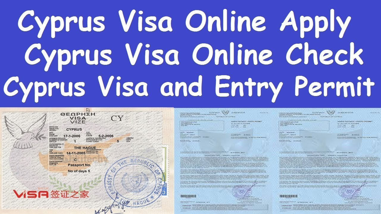 Cyprus Country Visa Apply Process L Cyprus Visa Online Check L Cyprus Work Permit Jobs Requirements Youtube