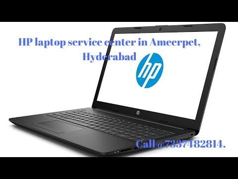 Broken Hinges Repair Of Hp Laptop In Ameerpet, Hyderabad.