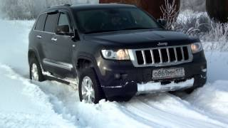 jeep grand cherokee wk2 snow