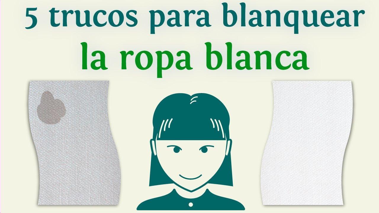 Que usar para blanquear la ropa blanca