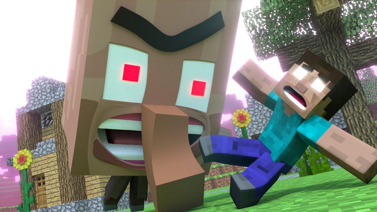 Top 7 Funny Minecraft Animations By Mrfudgemonkeyz Youtube