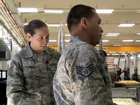 Air Force Jet Mechanic Couple  YouTube