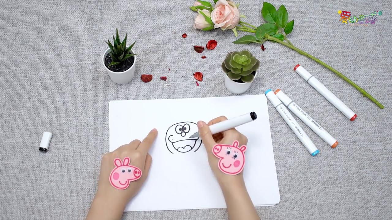 Hướng dẫn bé vẽ doraemon cực kỳ dễ thương