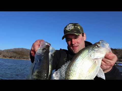 Crappie Fishing Lake Of The Ozarks (Early Pre-spawn Crappie Fishing)