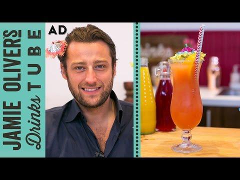 Sex on the Beach Vodka Cocktail - Joel Fraser - 동영상