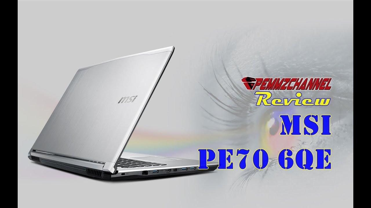 MSI PX60 6QE Qualcomm LAN Drivers Update