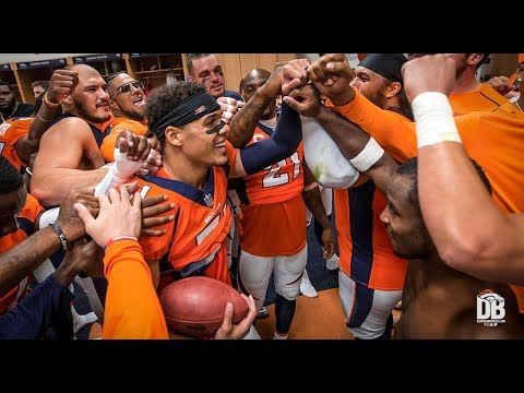 Victory Speech: Broncos vs. Raiders