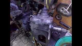 Самодельный трактор.Процесс сборки.Купил коробку ГАЗ-53.#23