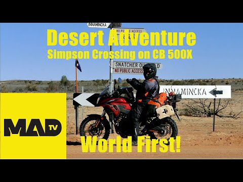 Desert Motorcycle Adventure - full length