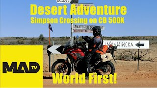 Australian Desert Motorcycle Adventure - long play