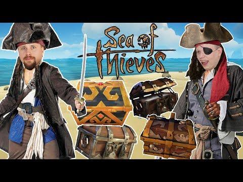 SÄNKER SKEPP OCH STJÄL 4 KISTOR   Sea of Thieves