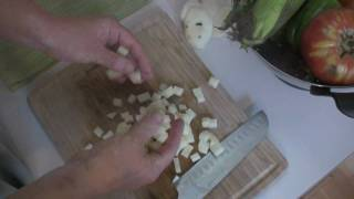 Knife Skills: Dicing, Batonnet, and Paysanne