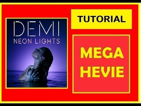 Chord Tutorial Neon Lights Demi Lovato Keyboardpiano Youtube