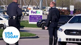 Officials hold news conference after shooting at FedEx facility in Indianapolis | USA Today