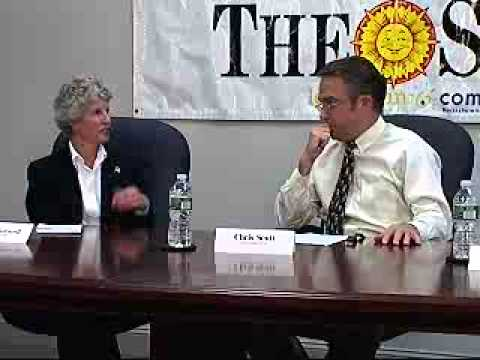 2nd Middlesex debate: James Arciero & Valerie Wormell